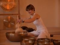 Meditative Klangperformance