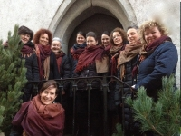 Frauenchor Stilfes unter der Leitung von Katharina Hasler